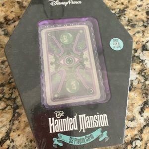NIB Disney Haunted Mansion Playing Cards Glow
